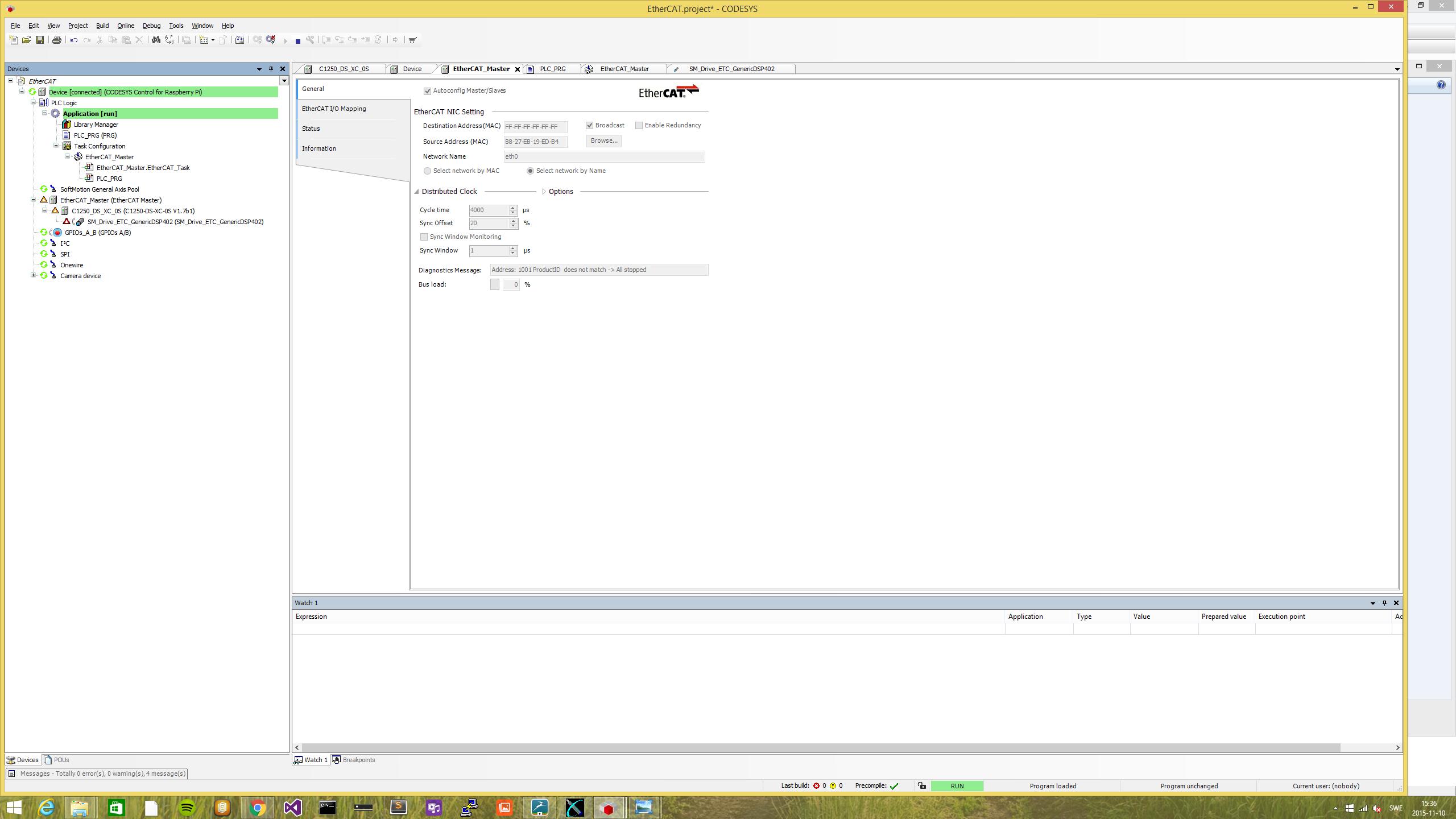 EtherCAT Error On Raspberry Pi CODESYS The IEC - Minecraft server erstellen raspberry pi