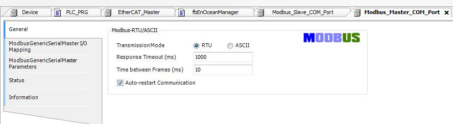 MODBUS RTU ARDUINO SLAVE - Modbus RTU disconnect - CODESYS - the IEC