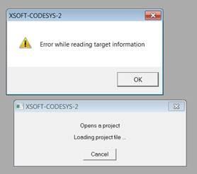 IMG: Error while reading target information.jpg
